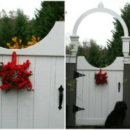Holiday Porch- Simple Decorations for Christmas