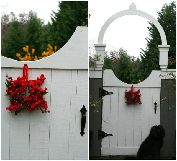Easy Christmas Outdoor Decorating Ideas: Holiday Porch- Simple Decorations For Christmas