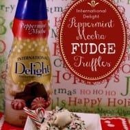 Peppermint Mocha Fudge Truffles Recipe