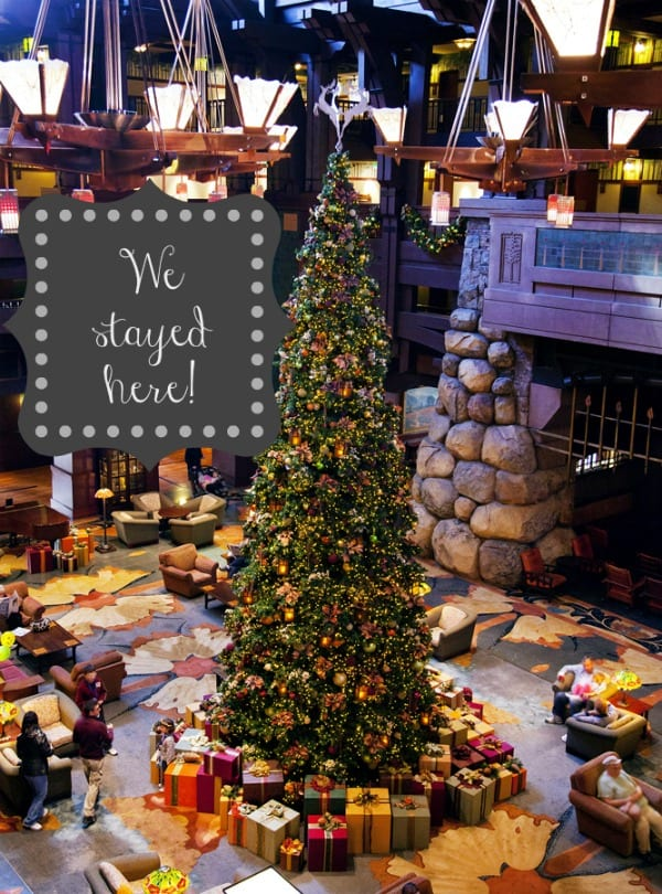 Disney for the Holidays! |Grand Californian Hotel and spa | TodaysCreativeBlog.net
