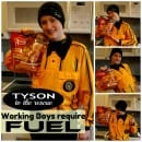Tyson Chicken for working boys!