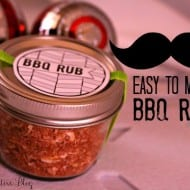 BBQ Rub Recipe {Gifts from the Kitchen}