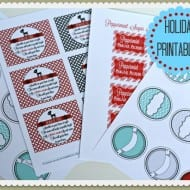 Printables for Christmas {Labels & Tags}