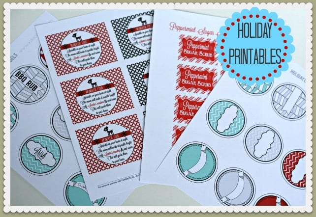 Printable Labels for christmas
