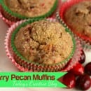 Cranberry Pecan Muffin recipe