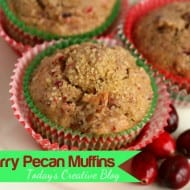 Cranberry Muffin Recipe
