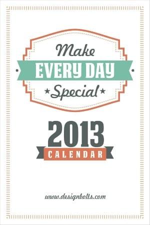 printable calendar 2013