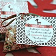 Reindeer Food Recipe with free printable poem | Christmas Traditions | Holiday Gift Ideas for neighbors | TodaysCreativeLife.com