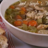Uncle Ben's Chicken and Wild Rice Soup