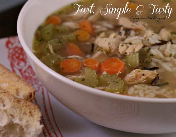 wild rice chicken soup recipe