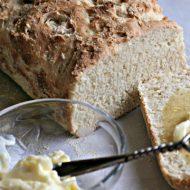 English Muffin Bread Recipe | Rapid Rise Yeast | TodaysCreativeLife.com