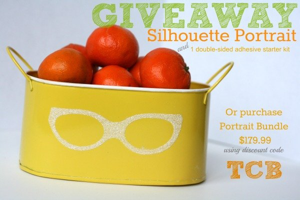 Silhouette Portrait Giveaway - today's creative blog