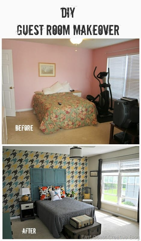 do it yourself bedroom makeover