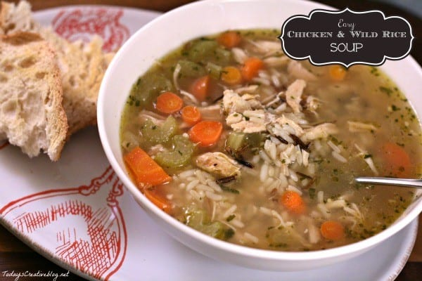 Easy Chicken soup recipe | TodaysCreativeBlog.net