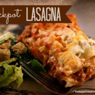 Crockpot Lasagna – Slow Cooker Sunday