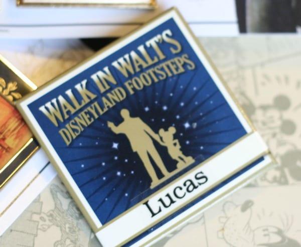 Walk in Walt's footsteps
