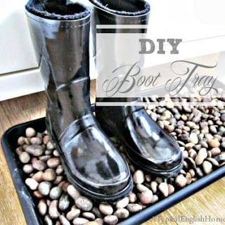 boot tray diy