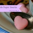Sugar Hearts – Homemade Sugar Cubes