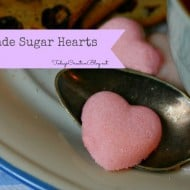 Sugar Hearts – Homemade Sugar Cubes