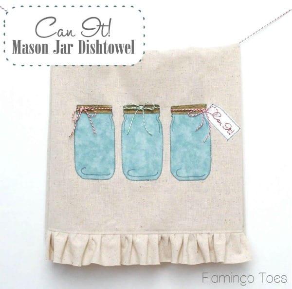diy handmade dish towel
