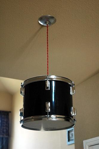 Drum light - Creative decorating