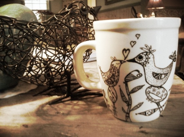 Valentine Craft ideas - Sharpie Mug