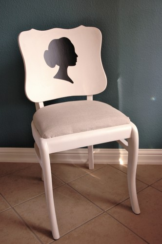Creative Decorating - Silhouette Chair
