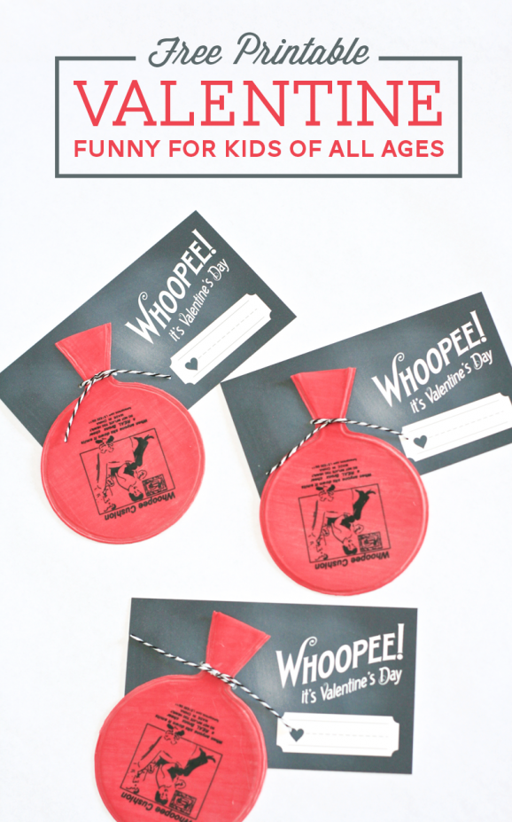 whoopie cushion Valentine