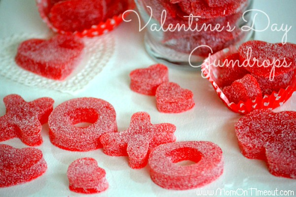 Valentine craft ideas- gum drops