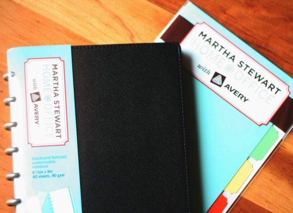 Martha Stewart Home office Discbound notebook