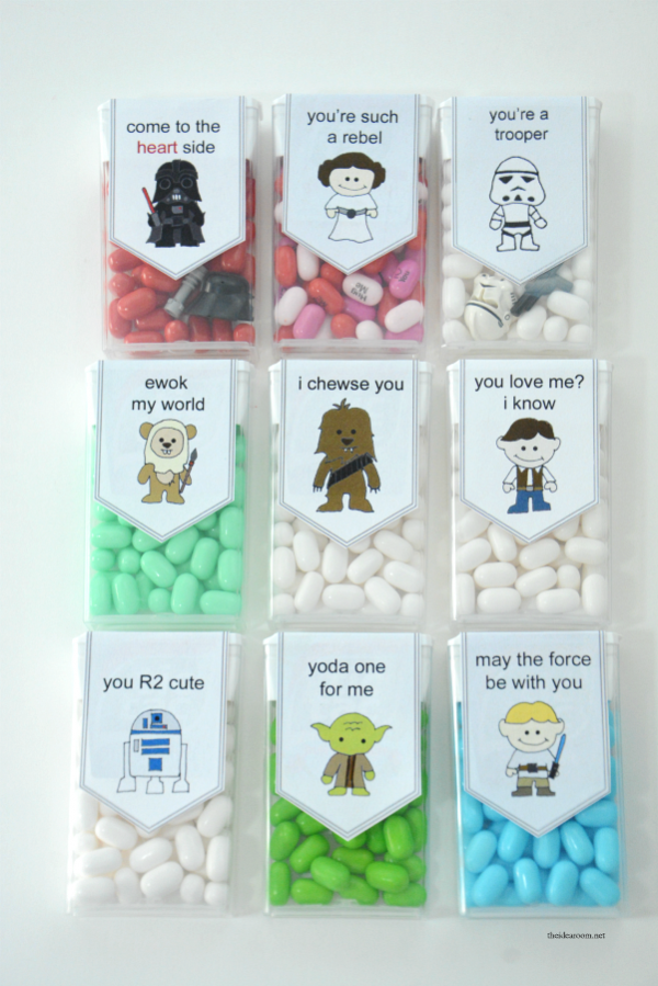 Starwars valentines from the Idea Room