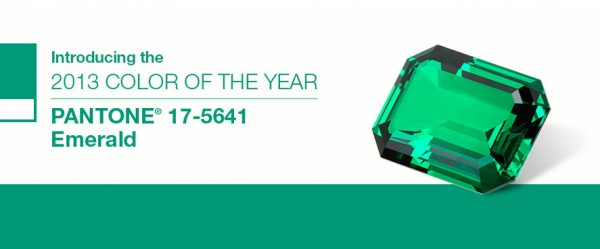 pantone Color of the Year Emerald Green