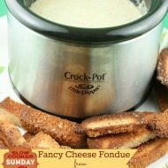 Crockpot fondue recipe - Slow Cooker Sunday - Today's Creative Blog
