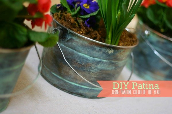 DIY Faux Patina | TodaysCreativeBlog.net