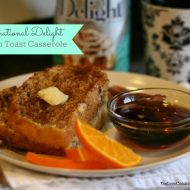 Coffee Creamer French Toast Casserole