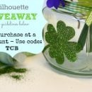 Double adhesive Silhouette craft- Shamrocks- Today's Creative Blog