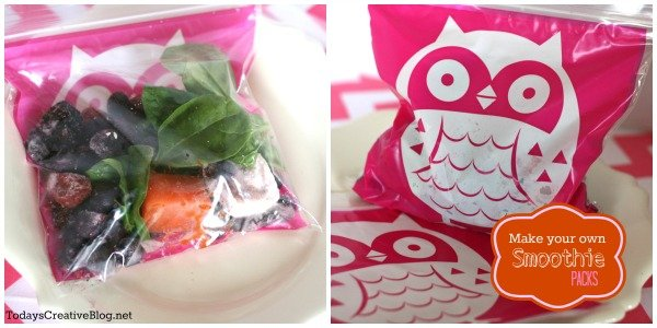 frozen smoothie packs- today's creative blog