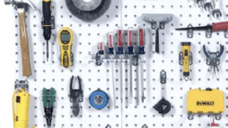 Pegboard for Tool Storage
