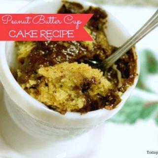 Crockpot Dessert Recipe – Peanut Butter Cup Cake