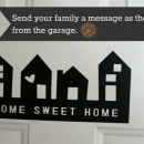 Garage Door Message