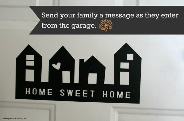Garage Door Message