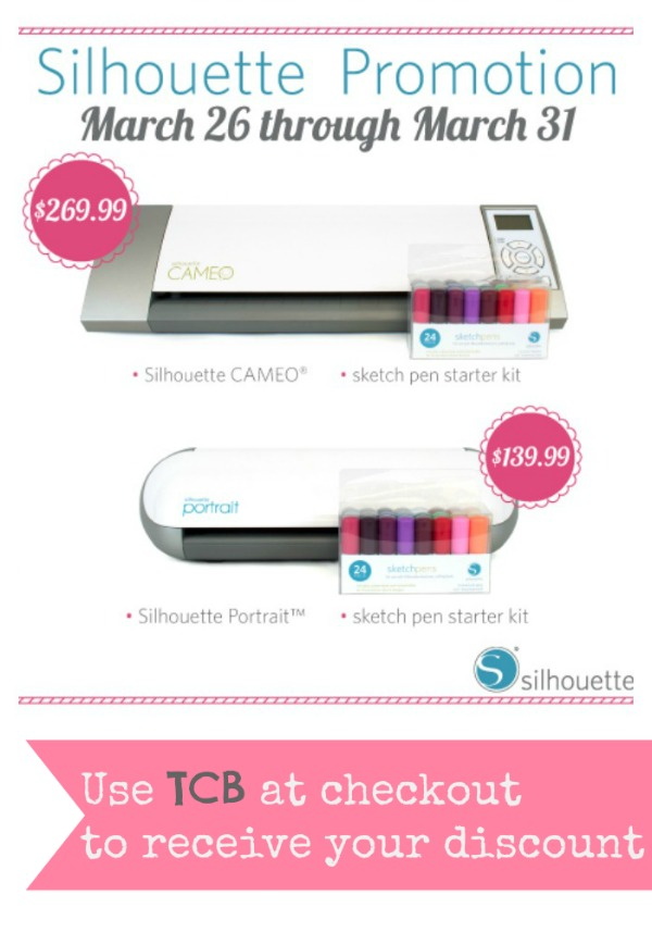 Silhouette Cutting Machine discount