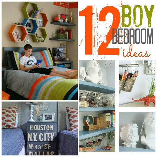 Boy Bedroom Decor Ideas Cool Bedroom Ideas  12 Boy Rooms  Today's Creative Life