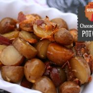 Crockpot Cheese Bacon Potatoes – Slow Cooker Sunday