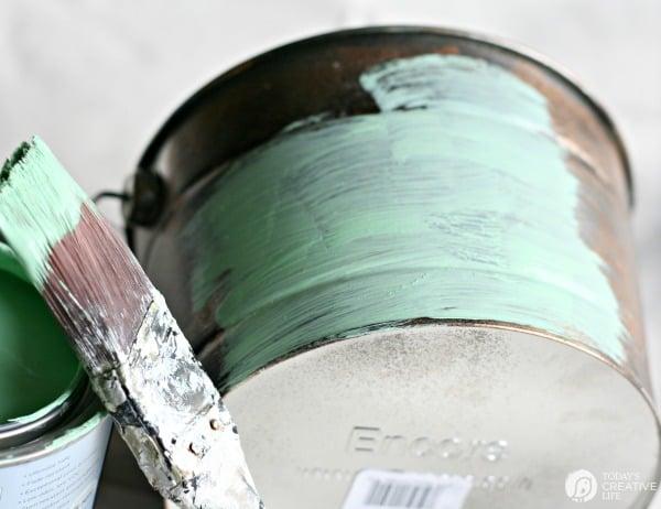 Create a Patina Finish DIY | TodaysCreativeLife.com