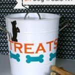 Dog Treat Tin DIY | TodaysCreativeBlog.net