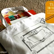iron on transfer book bag - Today's Creative Blog