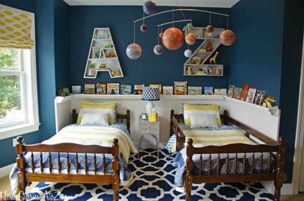 boy bedroom ideas - http://www.homestoriesatoz.com/