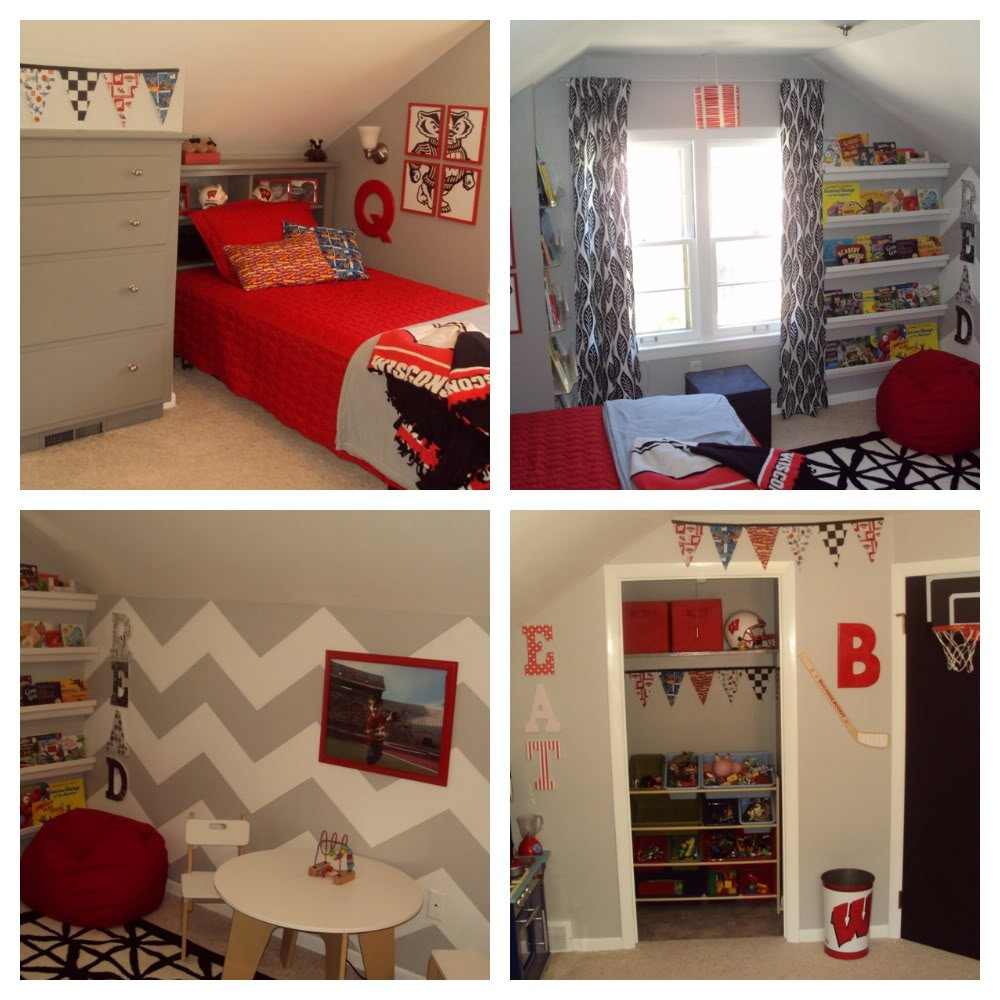 Boys Red Bedroom Ideas Part - 37: Boy Bedroom Ideas - Balancing Home
