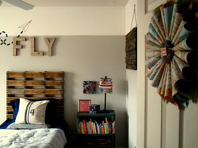 Travel Inspired Guest Room: {Boys} 12 Cool Bedroom Ideas